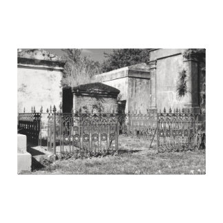 Rusted Gates Canvas Print