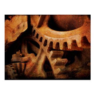 Rusted Gears Postcard