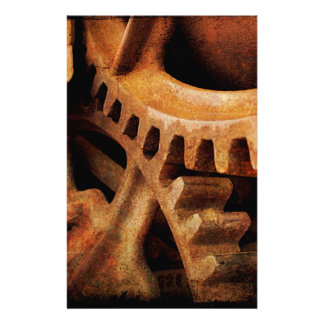 Rusted Gears Stationery