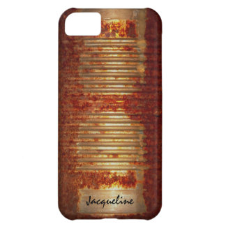 Rusted Grunge Tin Can iPhone 5C Case