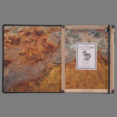 Rusted iPad case DODOcase