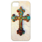 Rusted Iron Cross iPhone 5 Case
