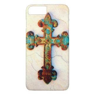 Rusted Iron Cross iPhone 7 Plus case