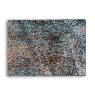 Rusted Iron Texture Pattern 1 Envelope