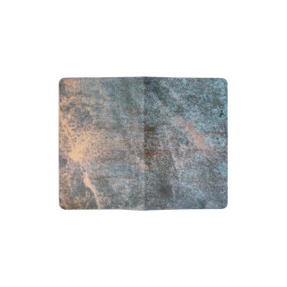 Rusted Iron Texture Pattern 1 Pocket Moleskine Notebook Cover With Notebook