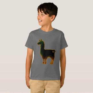 Rusted Llama Kids T-Shirt