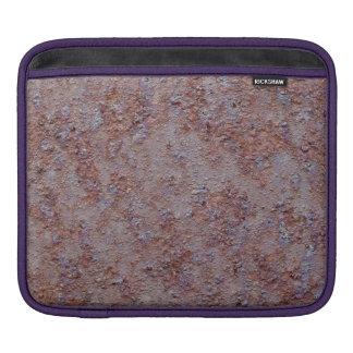 Rusted metal barrell iPad sleeves