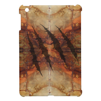 Rusted Metal Claw Rip Pattern Case For The iPad Mini