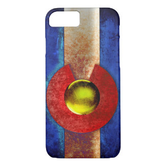 Rusted Metal Colorado Flag iPhone 8/7 Case