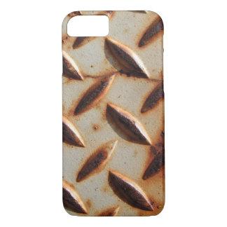 Rusted Metal Diamond Plate iPhone 8/7 Case