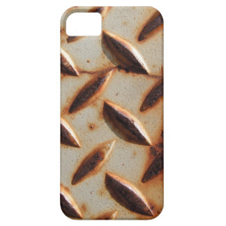 Rusted Metal Diamond Plate iPhone SE/5/5s Case
