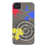 Rusted Metal Grate with Gun Sight iPhone 4 Case-Mate Cases