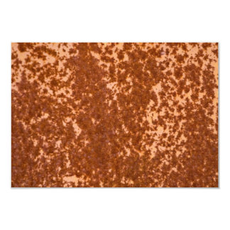 Rusted Metal Textured Card