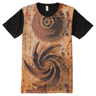 RUSTED METAL UNDER LIQUID All-Over-Print T-Shirt