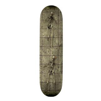 Rusted Metal With Skeletons Skate Board Decks