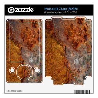Rusted Microsoft Zune (80GB) skin Zune Decals