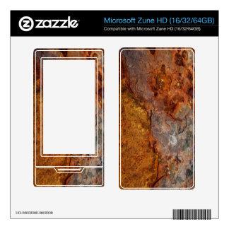 Rusted Microsoft Zune HD skin