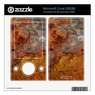 Rusted Microsoft Zune skin