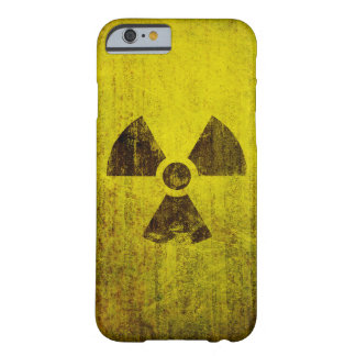 Rusted Radioactive Symbol Barely There iPhone 6 Case