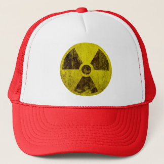 Rusted Radioactive Symbol Trucker Hat
