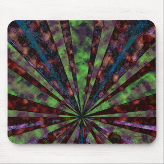 Rusted Rays Mouse Pad