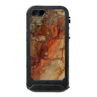 Rusted Rivets Waterproof iPhone SE/5/5s Case