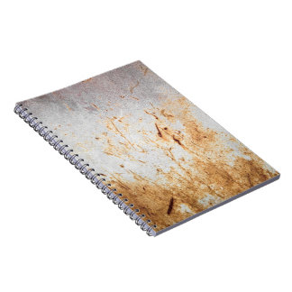 Rusted Rusty Metal Note Books