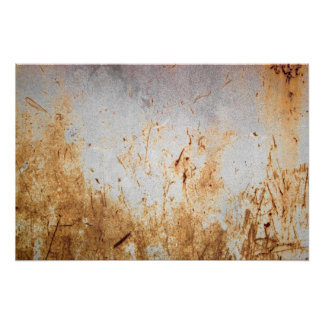 Rusted Rusty Metal Poster