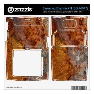 Rusted Samsung Blackjack II (SGH-I617) skin Samsung Blackjack II Skin
