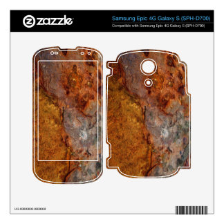 Rusted Samsung Epic 4G Galaxy S (SPH-D700) skin Decal For Samsung Epic