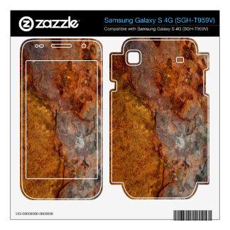 Rusted Samsung Galaxy S 4G skin
