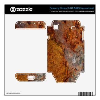 Rusted Samsung Galaxy S (GT-I9000) skin Samsung Galaxy S Decal