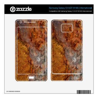 Rusted Samsung Galaxy S II skin