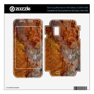 Rusted Samsung Mesmerize i500 Galaxy S skin Samsung Mesmerize Skin