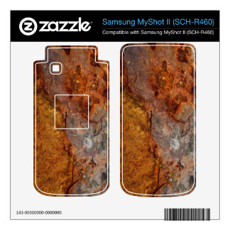 Rusted Samsung MyShot II SCH-R460 skin Samsung MyShot II Skin