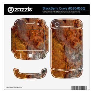 Rusted Decals For BlackBerry