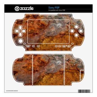 Rusted Sony PSP skin
