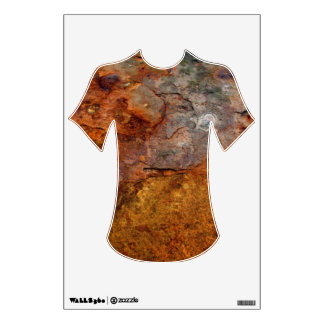 Rusted T-Shirt wall decal