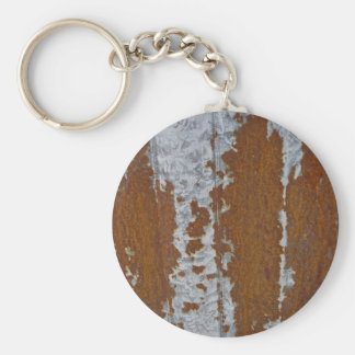 Rusted Tin Roof Keychain