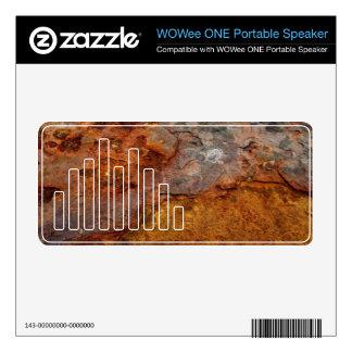Rusted WOWee ONE Portable Speaker skin Decal For WOWee Speaker