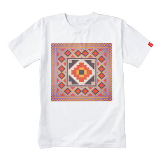 Rustic abstract design zazzle HEART T-Shirt