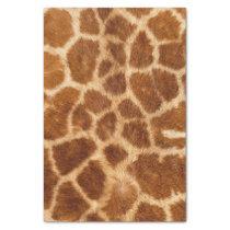 rustic african fashion safari animal giraffe print tissue paper