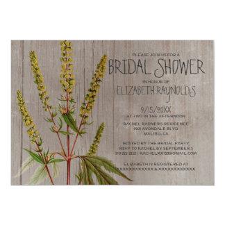 Rustic Ambrosia Bridal Shower Invitations