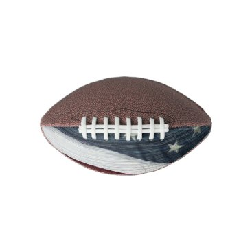 USA Themed Rustic Americana Football