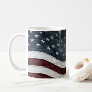 USA Themed Rustic Americana Mug