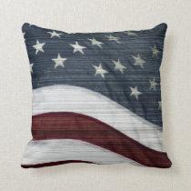 Rustic Americana Pillow