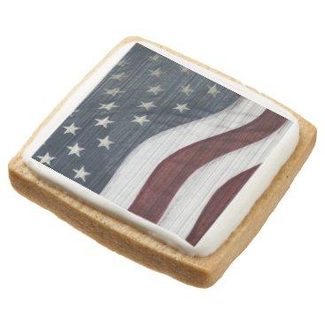 USA Themed Rustic Americana Shortbread Cookies