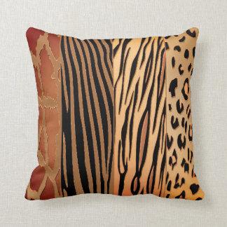 Rustic Animal  Printed Zebra Stripe Pillow