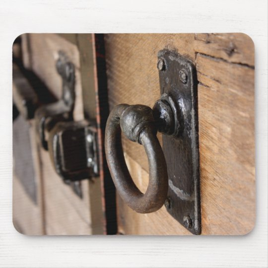 Rustic Antique Door Pull and Latch Mousepad - Rustic Antique Door Pull And Latch Mousepad Zazzle.com
