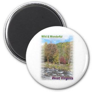 Rustic Appalachian River Magnet